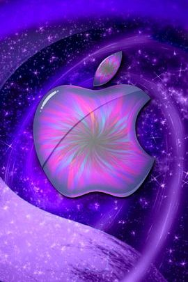 Purple Apple Space Logo