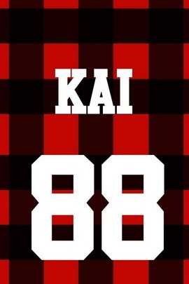 Exo Baseball Long Sleeve Sweater Kai