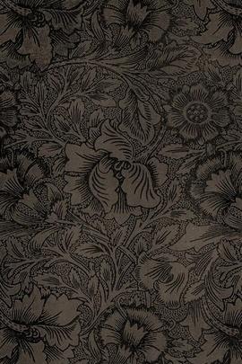 Vintage Pattern Black