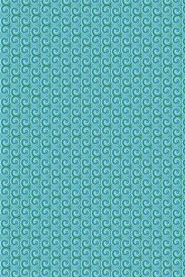 Twirly Swirly Turquoise