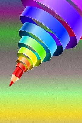 柔和的彩虹