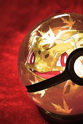Bulbasaur In Pokeball