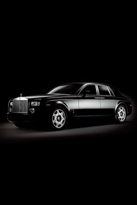 Rolls Royce Misterious Black Car