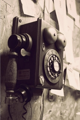 Vintage telefon