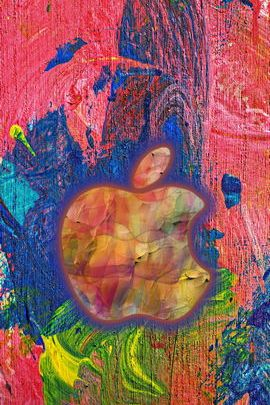 Abstract Painted Apple