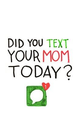 Текст вашей мамы