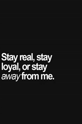 Stay Real e Leale