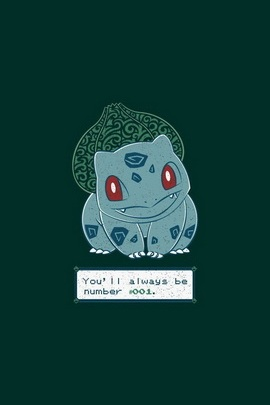 Bulbasaur No 001