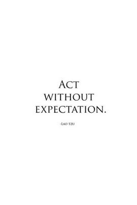 التصرف بدون توقع