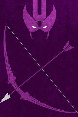 Hawkeye Minimal Grunge