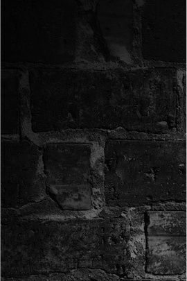 Wall Brick Texture Shadow Black And White