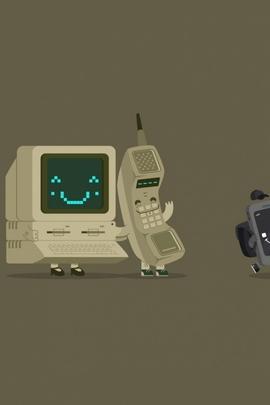 Minimalism Telephone