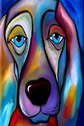 Abstract Dog