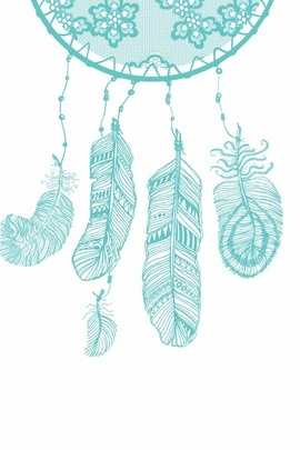Blue Color Dream Catcher