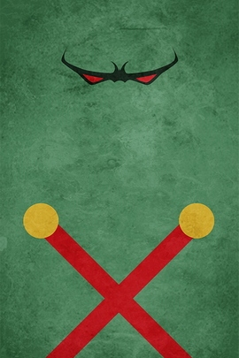 Martian Manhunter Minimal Grunge