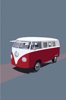 Funny Bus Art
