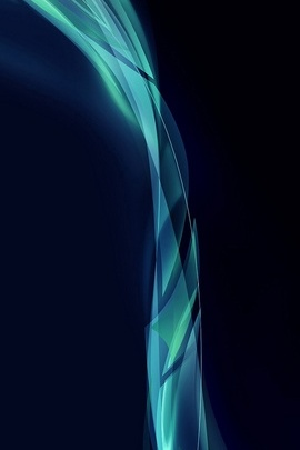 High Light And Blue Design IPhone 6 Wallpaper