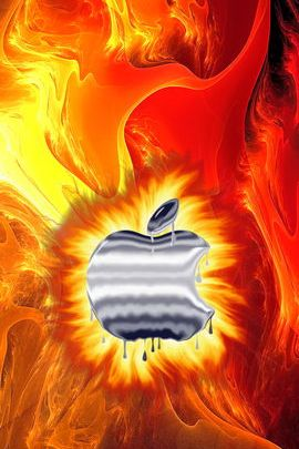 Molten Metal Apple