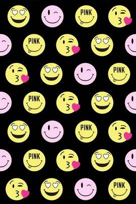Cute Smiley Pink