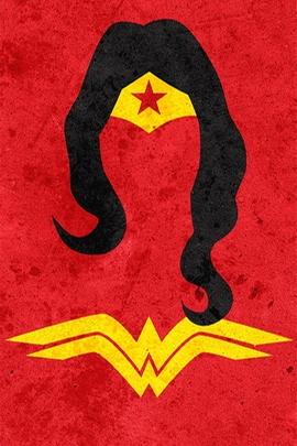 Wonder Woman Minimal Grunge