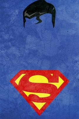 Superman Minimal Grunge