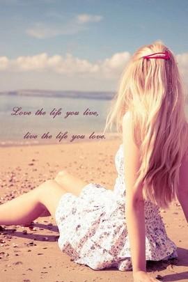 Love Life Quote