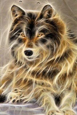 Fractal Wolf 02