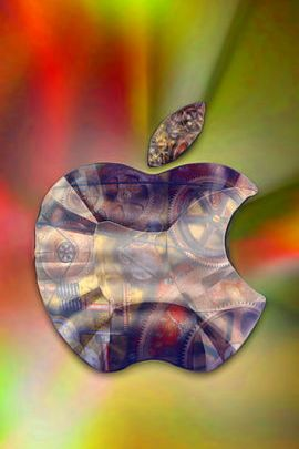 Mechanical Glass Apple