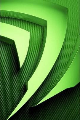 Logo vert de Nvidia