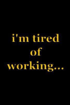 피곤한 일