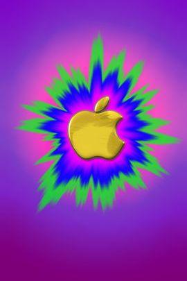 Golden Burst Apple