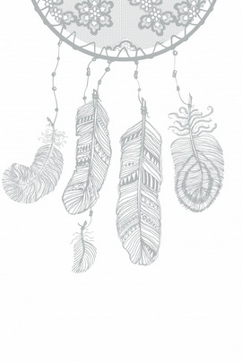 Gray Color Dream Catcher