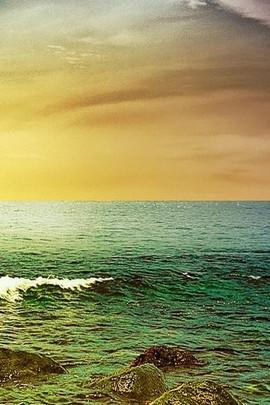 Vista al mar cielo