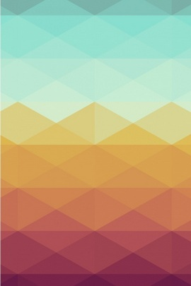Colorful Rhombus Pattern