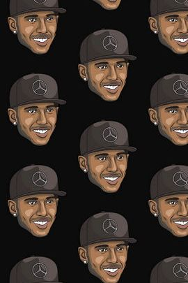 Lewis Hamilton Illustration