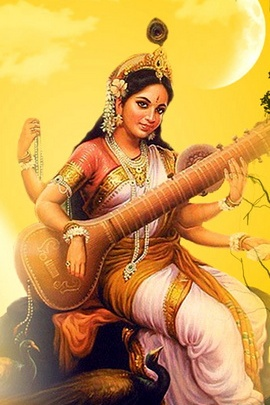 Saraswathi Krishna God