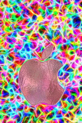 Color Burst Apple