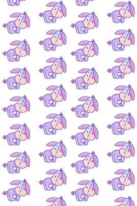 Winnie The Pooh Eeyore Pattern