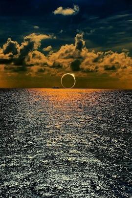 सूर्य का अस्त होना