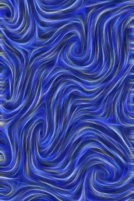 Swirly Whirly Blue