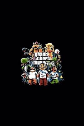 Grand Theft Auto Mario
