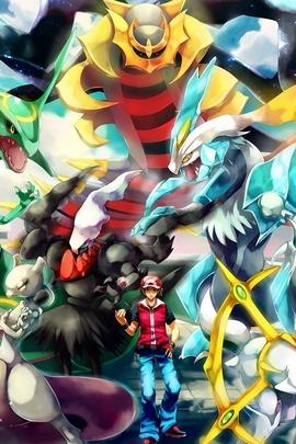 Pokemon Trainer Rouge