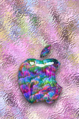 Opal & Glass Apple