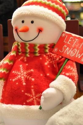 Снеговик-кукла