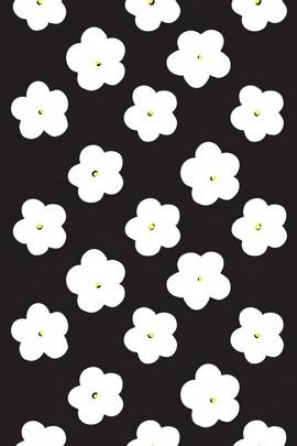 काले सफेद पुष्प