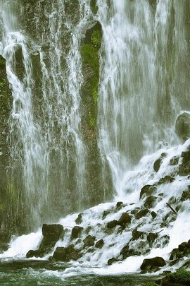 Clean Waterfall