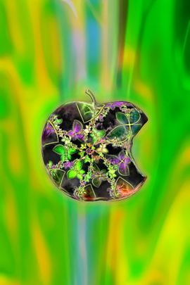 Jeweled Green Apple