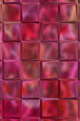 Red Glass Squares