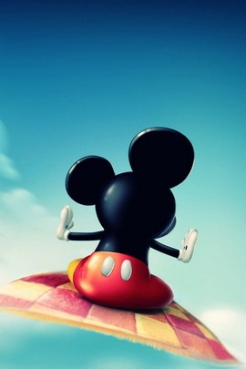 Mickey Mouse Flying