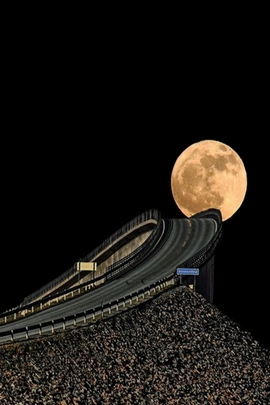 Highway Full Moon